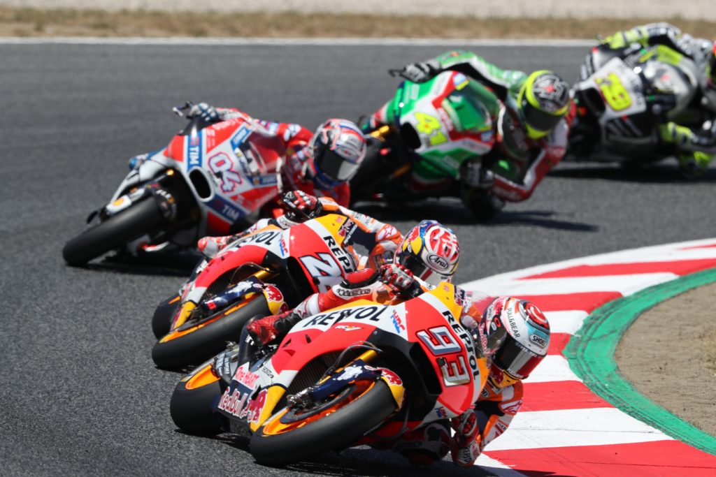 Innovation in the world's fastest motorcycle racing championship