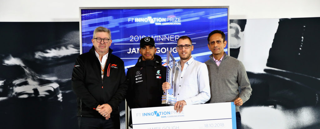 Winning idea of 2018 F1® Innovation Prize aims to revolutionise the future of the Formula 1® viewing experience for fans worldwide